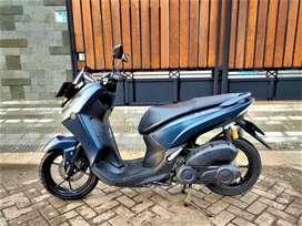 Yamaha Lexi S TH 2019/2018 Biru , Like New KM 100 Antik, Ex Pribadi !!