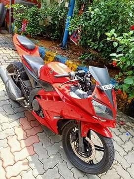 Yamaha R15.       2012model