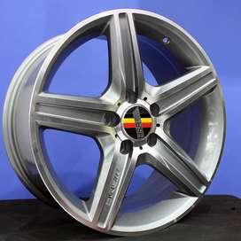jual velg type hsr wheelROSTOCK STYLE 6 4157 HSR Ring.17 Lebar.8 PCD.5