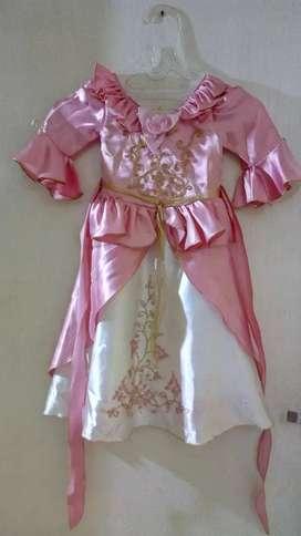 Preloved gaun anak Princess
