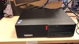 Used Branded Lenovo M700 Core I5 6th gen 4gb ram 500 gb hdd dvd wraran