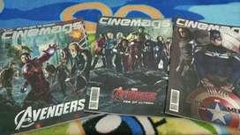 Jual / Sale Majalah Cinemags The Avengers & Captain America