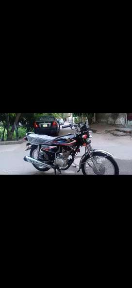 Honda 125 new condition 1hand use no accident  model 2019