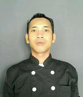 Mencari kerja sebagai juru masak