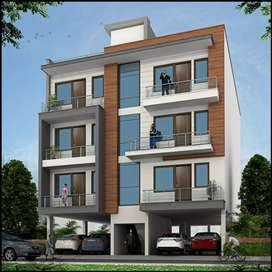 1 bhk flat with semi modular kitchen at Mansarovar