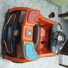 Automatic battery operated car..