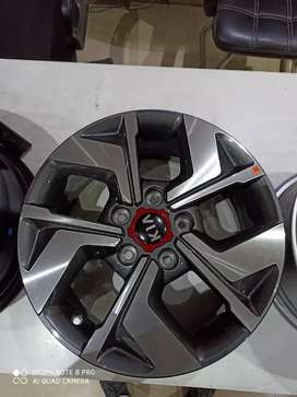 Kia 16 inch alloy wheels available sat of 4
