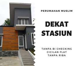 Perumahan Muslim Dekat Stasiun Cilebut Tanpa Bank Checking di Bogor
