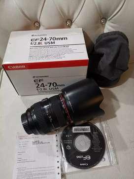 Canon 24-70mm f2.8 Fullset