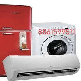 Salary 8000to20000 Needed workers for ac and fridge repairs