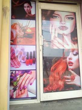 """""""Style is the answer to everything"""" (beauty parlour)"""