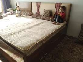 Double BED + Dressing