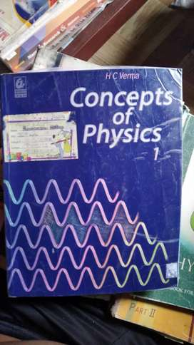Ncert books physics class 12 and 11 and hc verma class 11