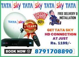 All India Offer's! Tata Sky SD/HD Tatasky Dishtv Airteltv Dishtv Offer