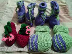 Hand Made Beautiful Baby Shoes