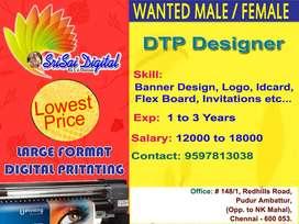Matrimony Customer Executive, DTP  Designer