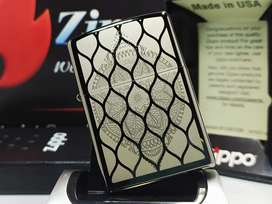 Zippo Original Mandala Design Black Ice 49430