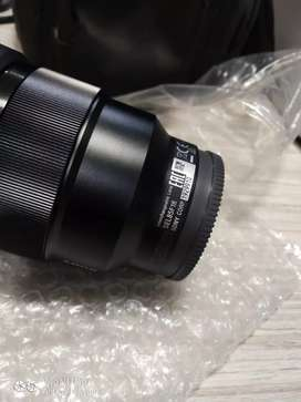 Sony brand new 85mm f1.8 E lens