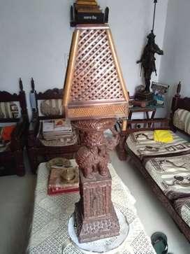 Antique night lamp
