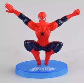 7 Pcs Kado Hadiah buat anak. Action Figure Spiderman