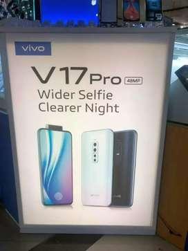 Vivo v 17 pro available box seald one year ago warranty