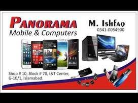 Panorama Mobile and laptop