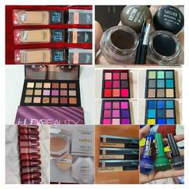 All cosmetic makeup products available