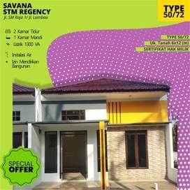 Mewah murah keren rumah di Jl. Suka Cipta- SM Raja Medan