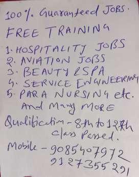 FREE TRAINING WITH 100 % JOB GUARANTY