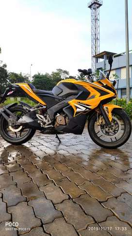 RS 200 with ABS 2015 model for sale,well maintained only18700km driven