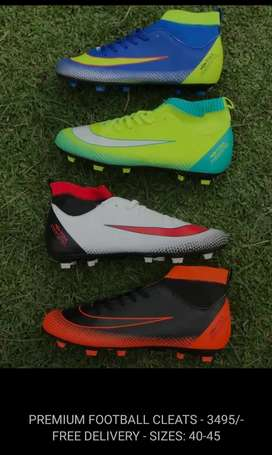 Premium quality football shoes studs