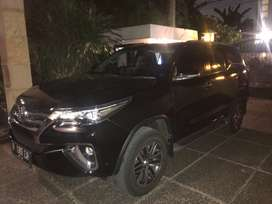 Dijual fortuner 2017 automatic hitam 59.000km murah dan bisa check