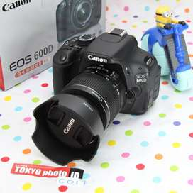 Canon 600D  Lensa Kit Unit A