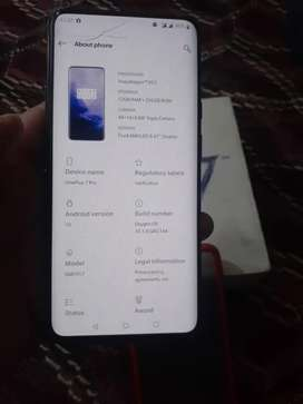 One plus 7 pro complete saman only touch crack Hn 12gb 256gb