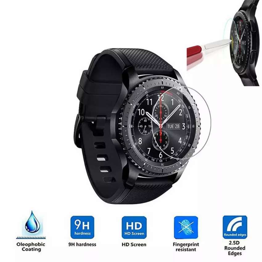 Tempered Glass Screen Protector For Samsung Gear S3 frontier/ Classic 0