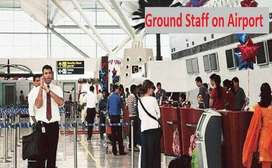 Hiring Ground staff in Airport Reputed Airlines