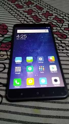 Mi max 2 4gb 64gb only mobile fixed price