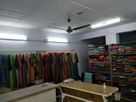 Women's Garments shop with semi furniture.