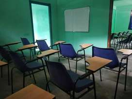 Written padchair and white board