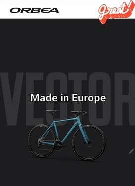 NEW MODEL HYBRID BIKE, ROAD ORBEA VECTOR 2021 Full bike Made in Europe