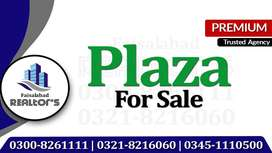 5 Story Rented Plaza On Ideal Location For Investment at Jarranwala Rd