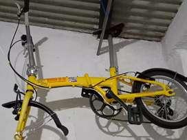 Polygon b2w bike 2 work kuning