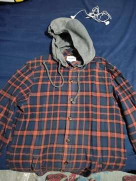 Flannel Pull and bear