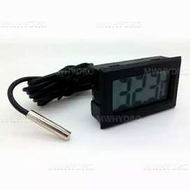 Mini Digital Thermometer / Termometer + Waterproof Probe / Kabel iw1