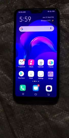 Vivo v9 4gb ram 64 GB internal 13mp frunt camera 24mp back camera