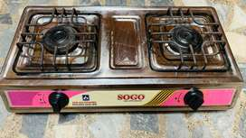 Stove chuula double side Only 1 week used