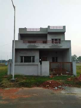 Newly constructed, double storey,unfinished kothi for sale in tricone