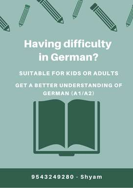German online classes A1/A2 for adults & kids