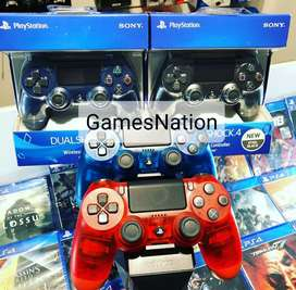 Ps4 dual shock new controllers @2499 /-
