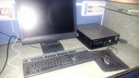 Dell Core2Duo with 19 inch Lcd + Keyboard, Mouse and Cables